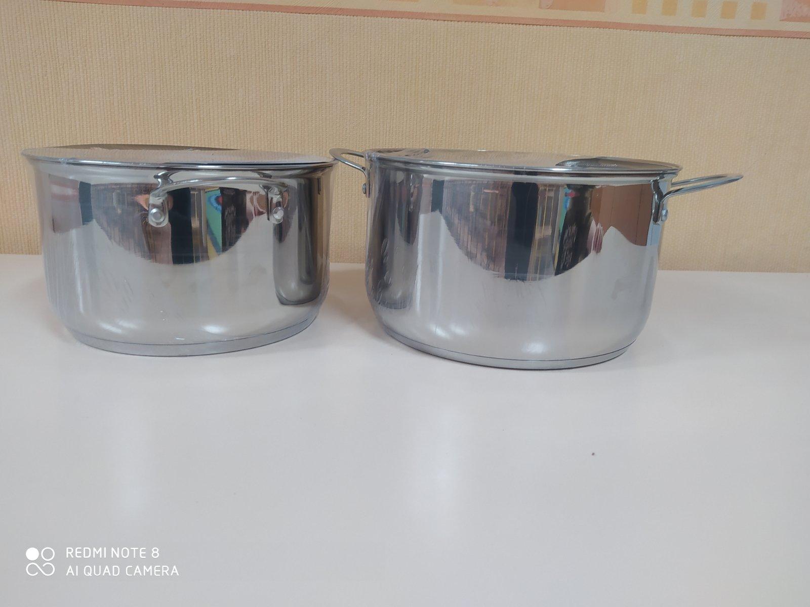 DETS s. Buiucani доставили качественные, новые кастрюли объёмом 6литров и 7,6 литров. Данные кастрюли были розданы в группы для приятного пользования!
